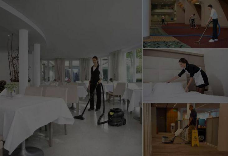 Čišćenje i održavanje hostela, hotela, kampova