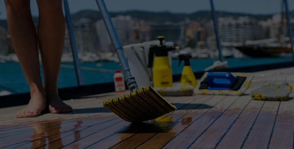 Čišćenje i održavanje jahti, brodova i aviona